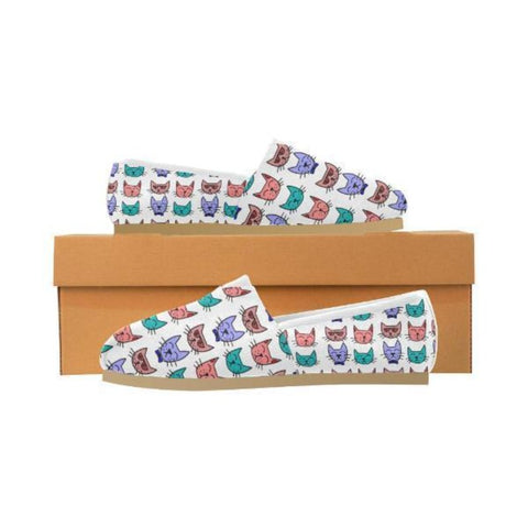 shoes with cat faces on them - Cute Cats Store