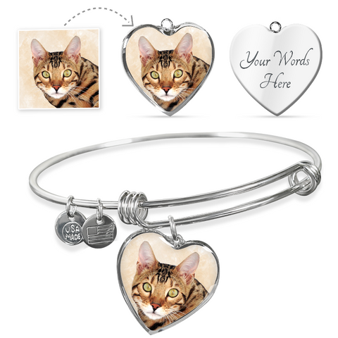 cat custom bracelet - Cute Cats Store
