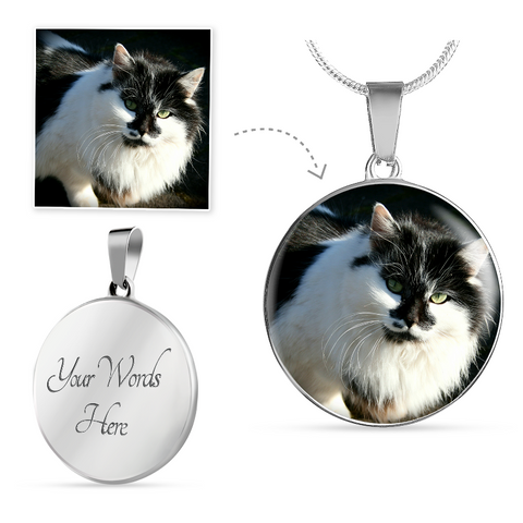Image of cute cat necklace - Cute Cats Store