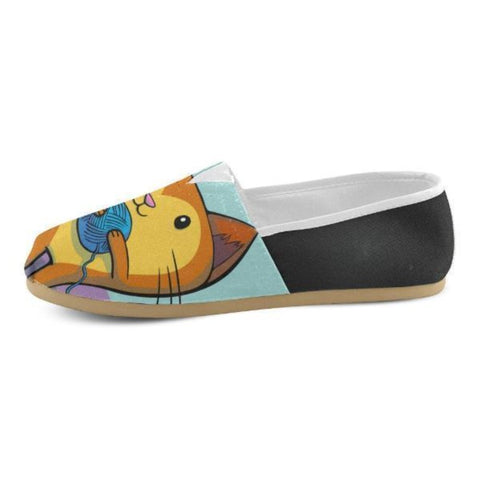 Image of cat Slip Ons For Women - Cute Cats Store