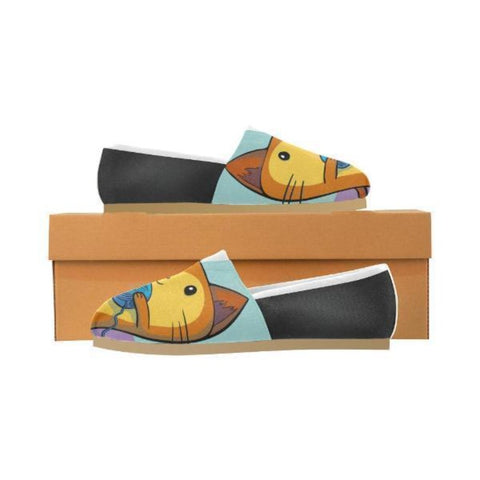 shoes with cat faces - Cute Cats Store