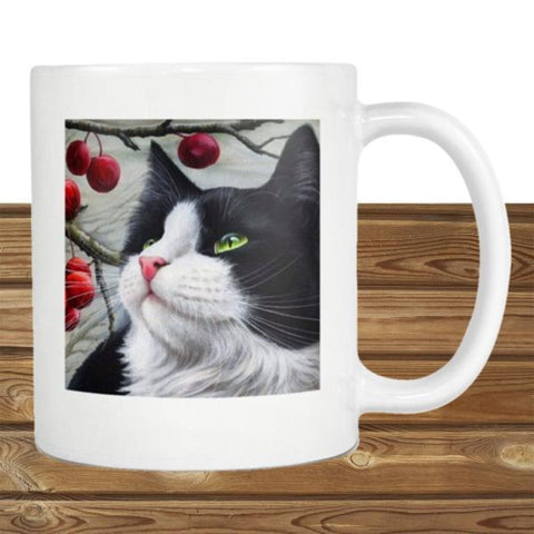 "Drinkware Smokey White / 3.75""/ 9.50 cm - Cute Cats Store"