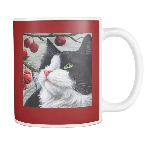 "Drinkware Smokey Red / 3.75""/ 9.50 cm - Cute Cats Store"