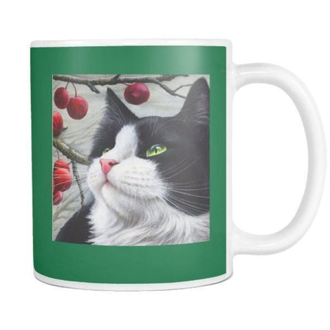 "Drinkware Smokey Green / 3.75""/ 9.50 cm - Cute Cats Store"