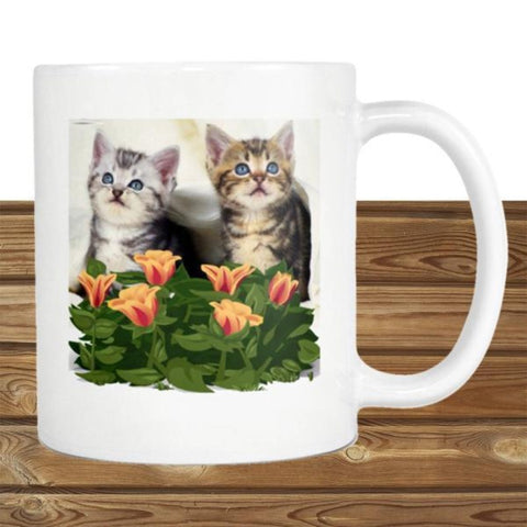 "Drinkware White / 3.75""/ 9.50 cm - Cute Cats Store"