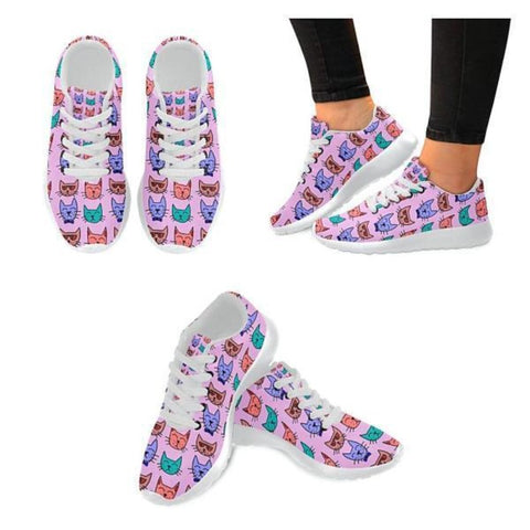 cat casual shoes - Cute Cats Store