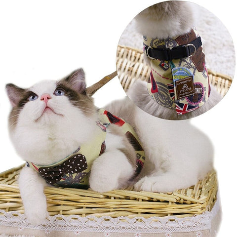 Adjustable Cat Harness - Cute Cats Store