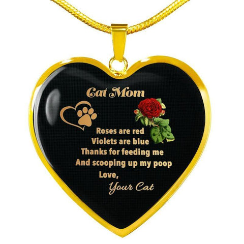 cat mom necklace - Cute Cats Store