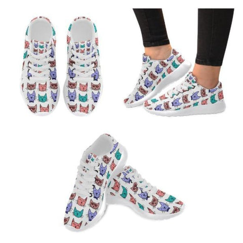 cat print shoes - Cute Cats Store