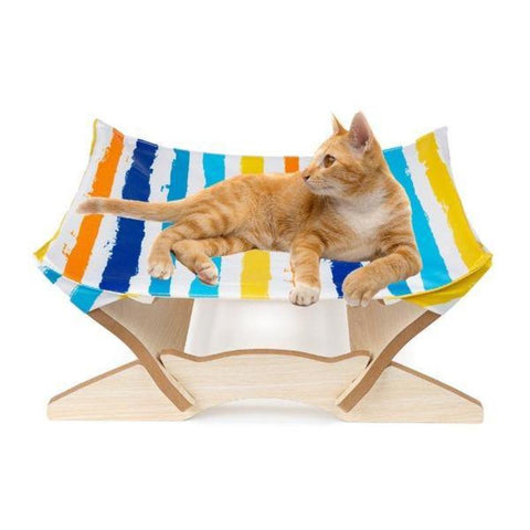 Image of cat wooden bed - Cute Cats Store