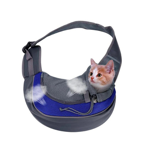 Image of cat bag Blue / L - Cute Cats Store