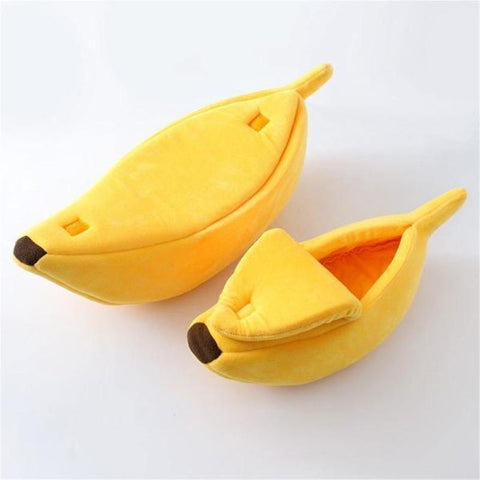 Image of banana bed for cats - Cute Cats Store