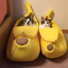 cat banana bed - Cute Cats Store