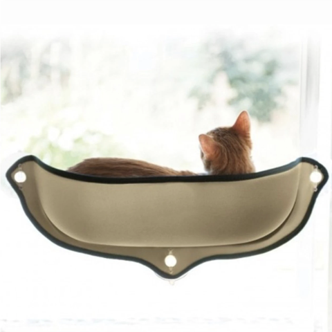 Image of Cat Bed Beige / L - Cute Cats Store