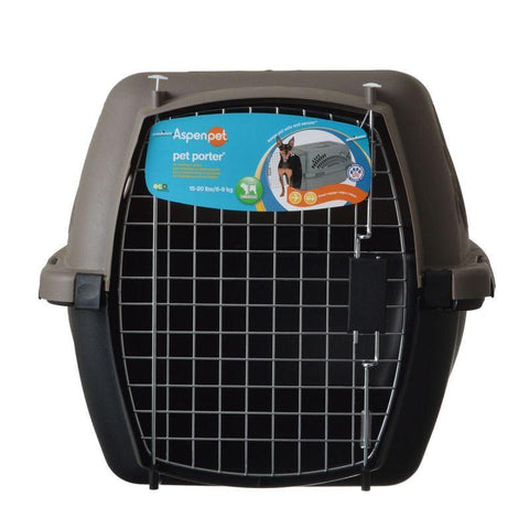 "Cat Carrier 24.1""L x 16.7""W x 14.5""H / Black/Grey / Standard 5-8 Days - Cute Cats Store"