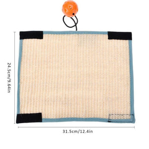sisal cat scratch mat - Cute Cats Store