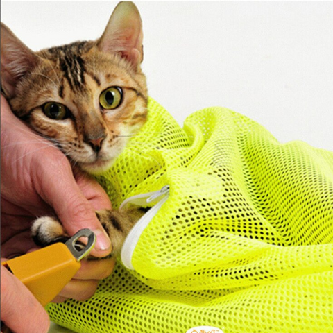 cat bath mesh bag - Cute Cats Store