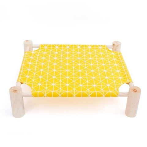 Image of Cat Hammock Yellow Bed - Cute Cats Store
