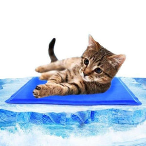 "cat mat 20*30cm / 7.87""*11.81"" / Blue - Cute Cats Store"