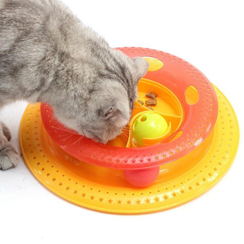 Image of Cat Toy Play Disc - Cute Cats Store