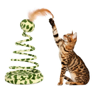 Cat Toy Green / M - Cute Cats Store