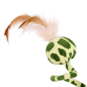 spring & feather cat toy - Cute Cats Store