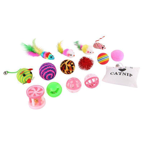 Image of Cat Toy Set - Cute Cats Store