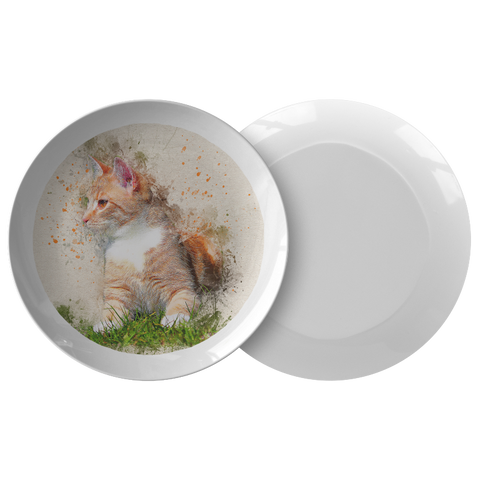 decorative cat plates - Cute Cats Store