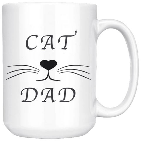 Image of Drinkware Cat Dad - Cute Cats Store