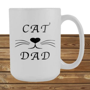 Cat Dad Mugs - Cute Cats Store