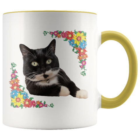 "Image of Drinkware Yellow / 3.75""/ 9.50 cm - Cute Cats Store"