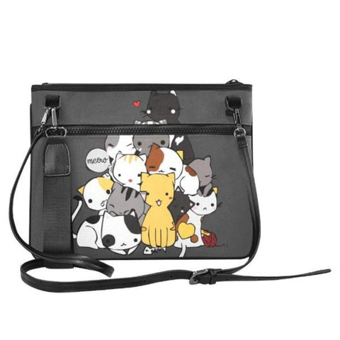 Image of Cat Slim Bag - Cute Cats Store