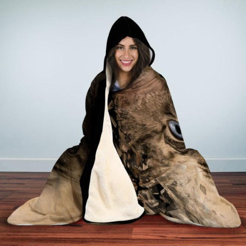 Cat design hooded blanket - Cute Cats Store