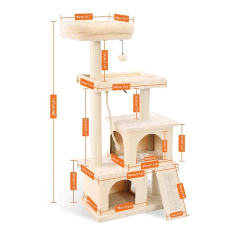 Cat House Scratching Post - Cute Cats Store