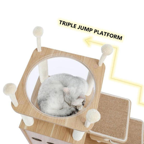 Image of modern cat tower - Cute Cats Store
