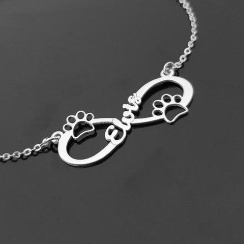 paw print necklace - Cute Cats Store
