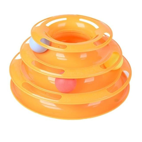 Image of tower of tracks cat toy - Cute Cats Store