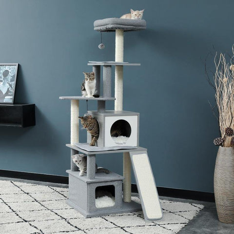 Image of indoor cat house - Cute Cats Store