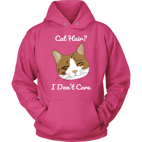 cat printed hoodie - Cute Cats Store