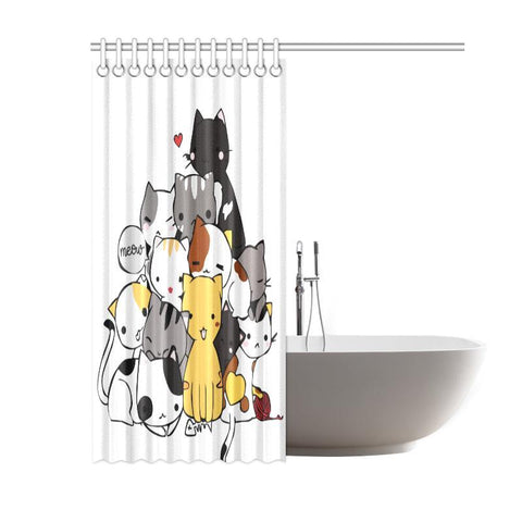 cat lover Shower Curtain - Cute Cats Store