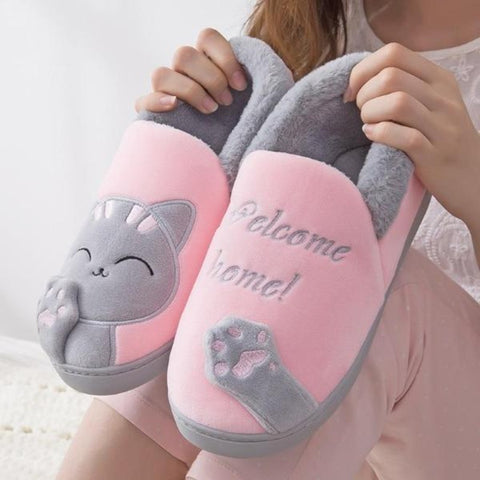 cute cat slippers - Cute Cats Store