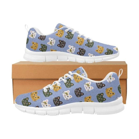 Image of cat print shoes - Cute Cats Store