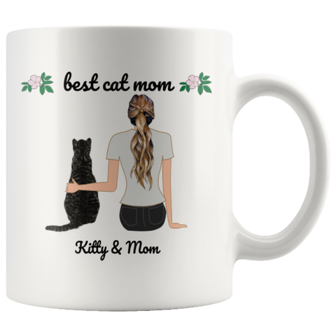 Image of Drinkware 11oz Mug - Cute Cats Store