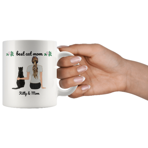 Image of cute cat mug - Cute Cats Store