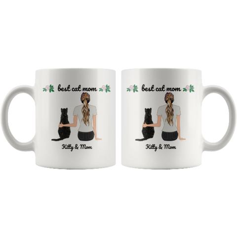 Image of custom cat mug - Cute Cats Store