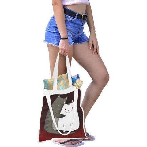 Kitty Tote Bag - Cute Cats Store
