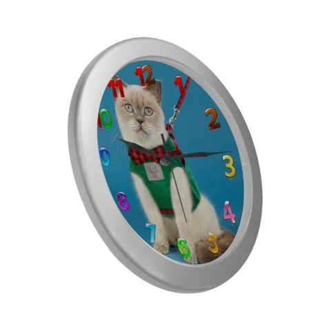 cute cat clock - Cute Cats Store
