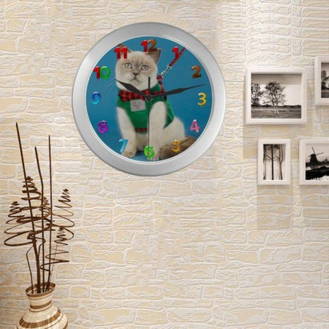 Image of cute wall clock - Cute Cats Store