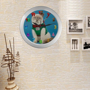 cute wall clock - Cute Cats Store