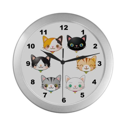 Home Decor One Size / Black Numbers - Cute Cats Store